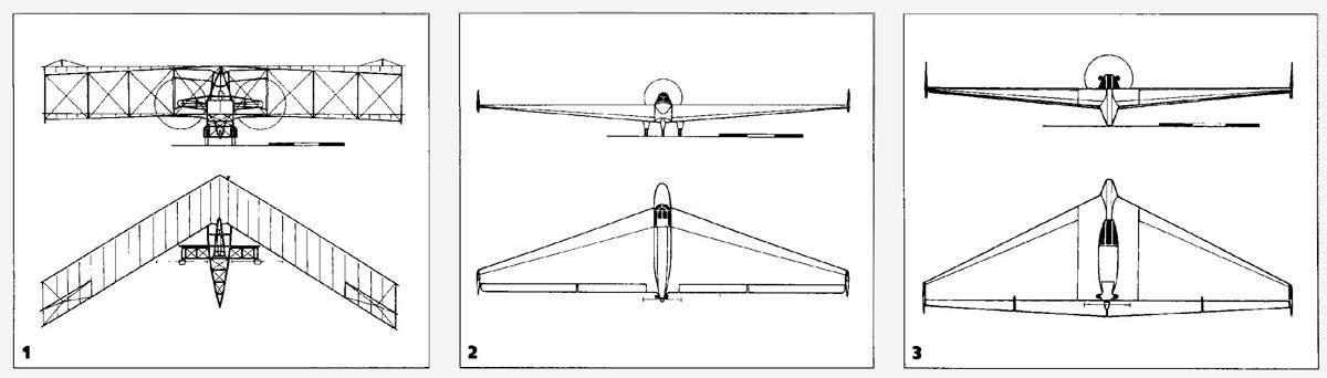 Схемы самолета D-5, БИЧ-11,