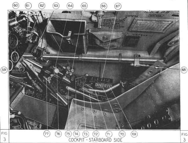 Hurricane Mk Ii Cockpit Starboard Side