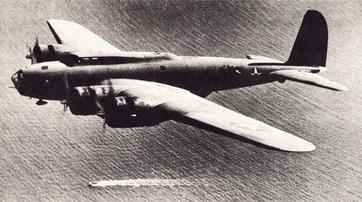 THE B-17D SAW ACTION FIRST. THE B-17F FULFILLED THE PROMISE.