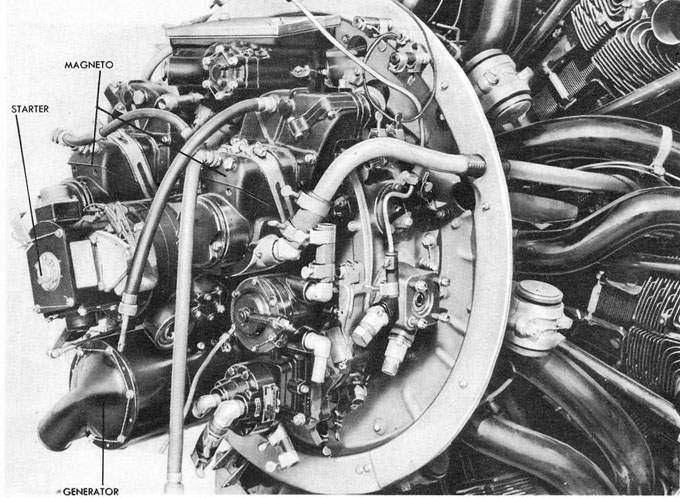 Figure 231 - ENGINE ELECTRICAL ACCESSORIES