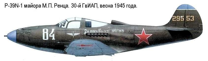 Технические данные p-39q аэрокобра