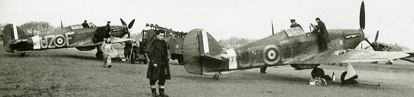 Hurricane I RAF 306 Sgn, Temhill England, March, 1940