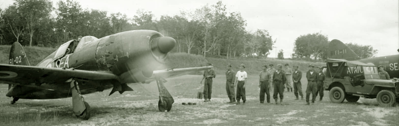 J2m3 Raiden bl-02 tested by British in Malaya 1945