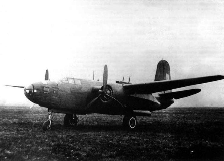 A-20G with a navigator's compartment in a nose