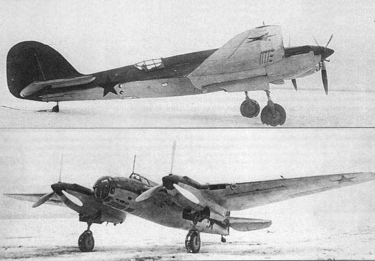 Diving bomber Аr-2 during official tests at February 1941