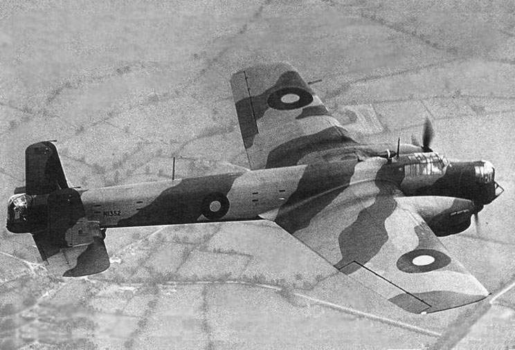Armstrong Whitworth A.W. 38 Whitley