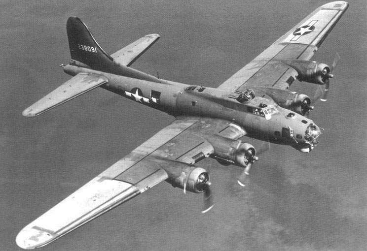 B-17G-30-DL (42-38091), was one of 2.395 manufactured by Douglas
