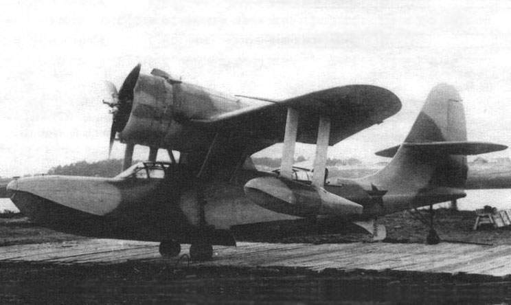 The second production copy Be-4 aircraft No. 28802