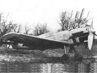 Bf 109B-1, captured by the Republicans