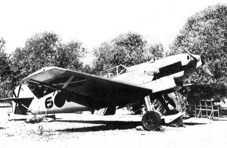 The Bf 109B-2