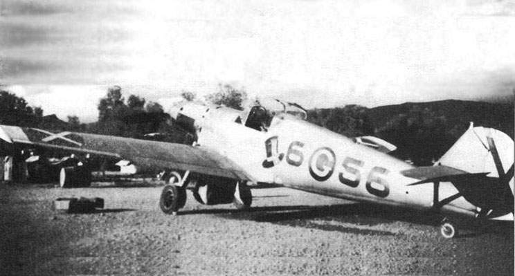 The Bf 109D in Spain at 1938