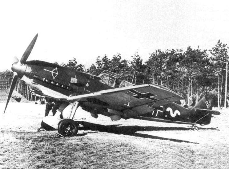 The Bf 109E-1 from 1./JG20