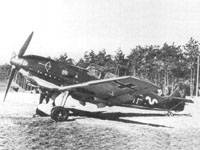 Bf 109E-1 from 1./JG20.