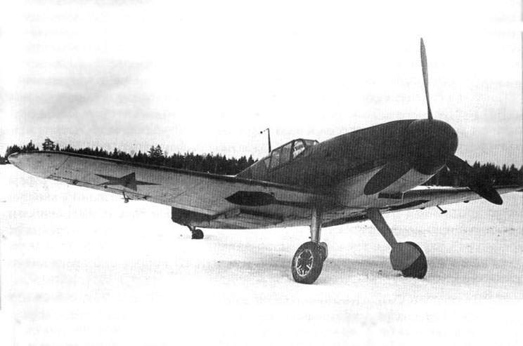The Bf 109F-2 No. 9209 at the Soviet Scientific Research Institute