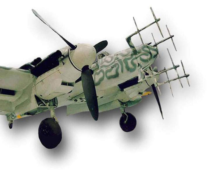 Museum Bf 110G-4 Wer.Na 730301. (England)
