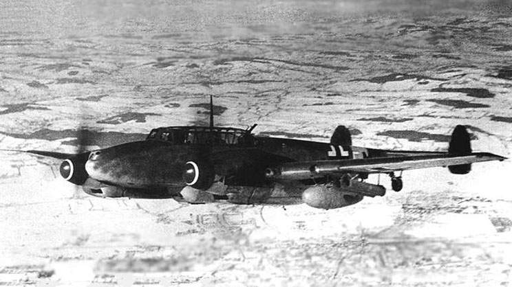 Bf 110G-4/R3/R7/M5 (2N+FM) from 4./ZG 76. Winter-Spring 1944