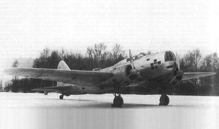 The DB-3, captured by the Finns