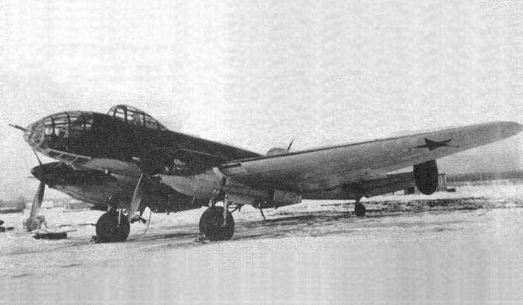 The Er-2 with motors AM-35A (AM-37), 1941
