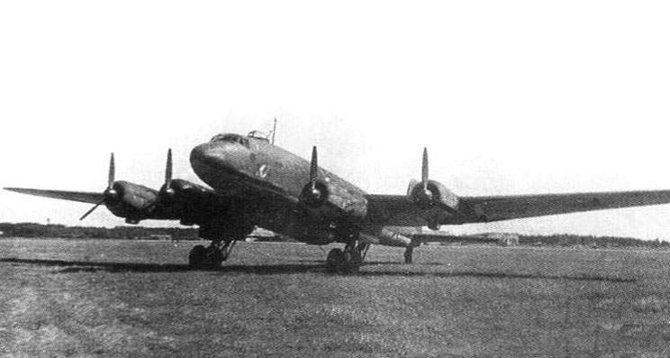 FW 200C-3 No. 0034 landed at Chkalovskaya at April 1943