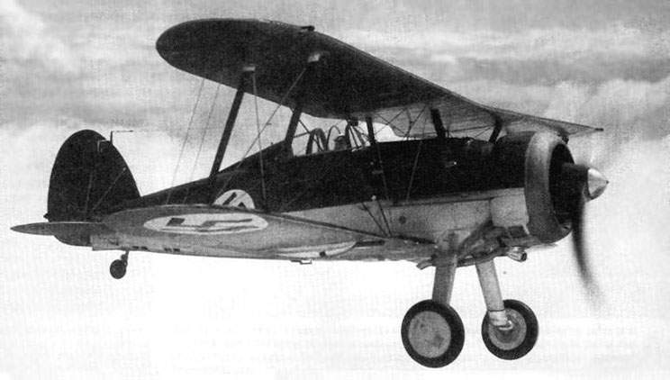 'Gladiator Mk.I' (Nr 114), intended for Latvia, middle of 1937