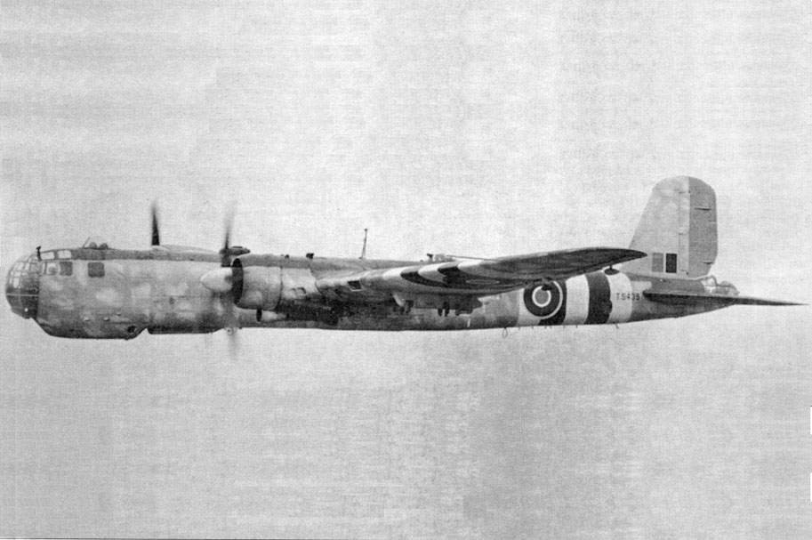 He 177 A-5 (Nr. TS439). Test - flight, RAF, Britannia, 1945