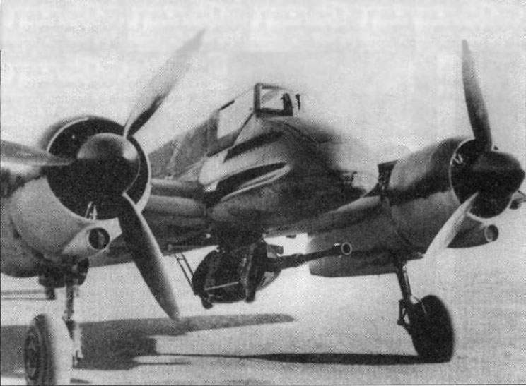 Hs 129B-1 with the cannon  Mk-101