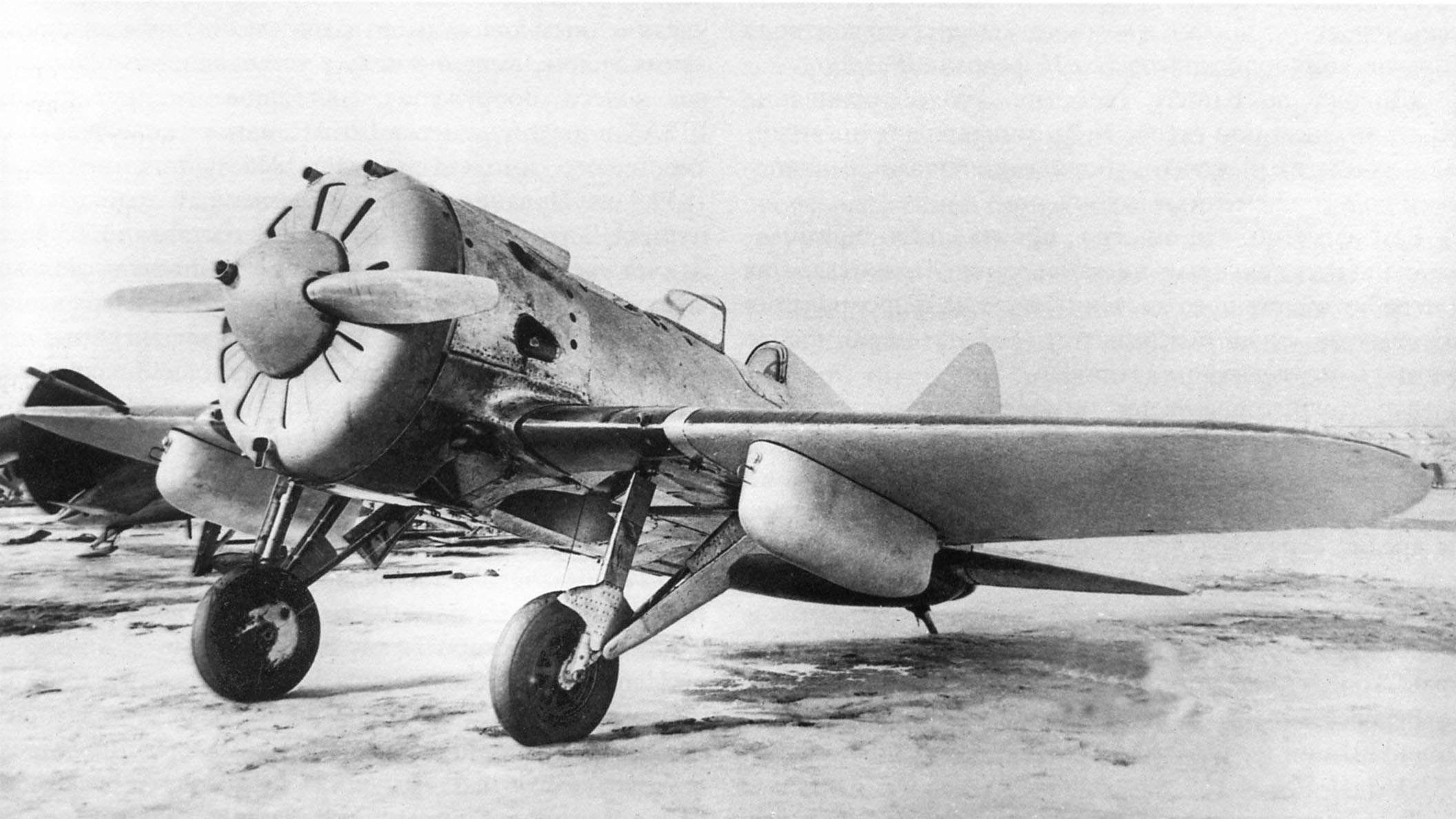 Polikarpov I-16 type 20 (# 1021681, type 10 with two 200l fuel tanks)