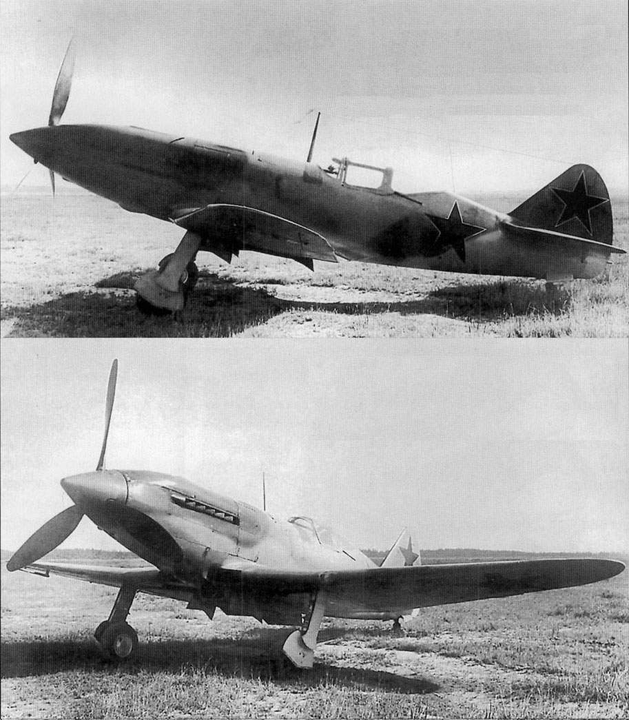 The I-230 (D) fighter powered with AM-35A engine