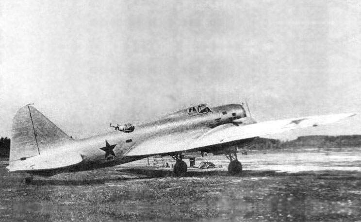 The DB-3 with the M-85 engines