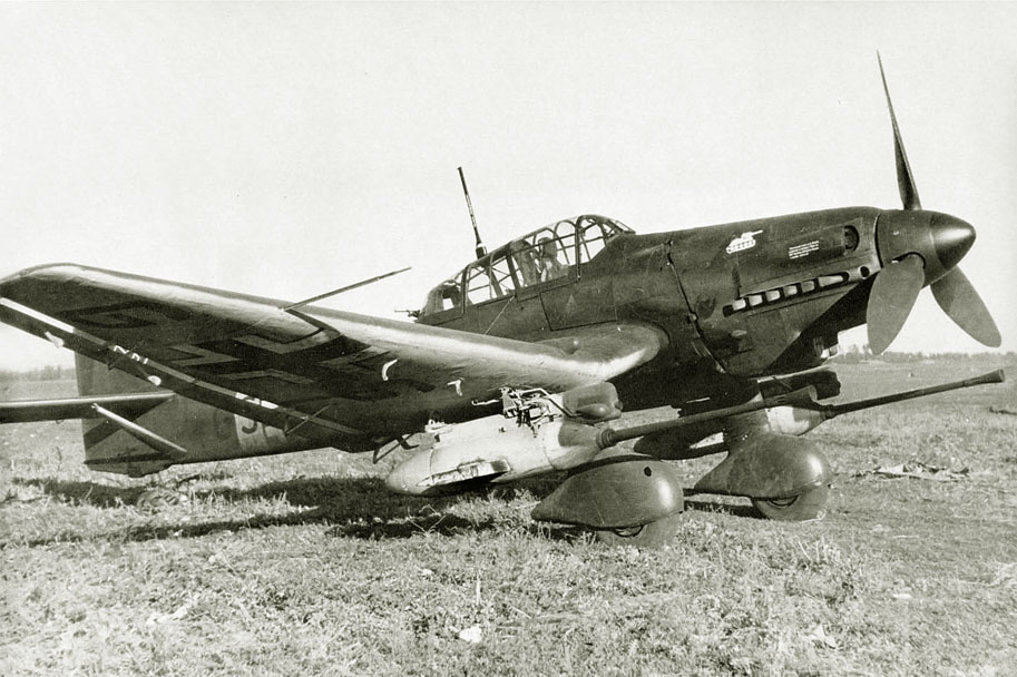 The Ju-87G-1 from 'Panzerjagdkommando'