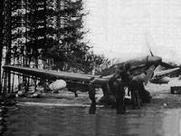 Ju-87R-1 in the outskirts of Minsk, late summer 1941