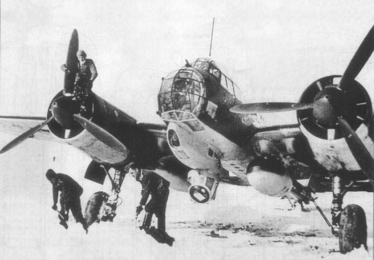 Ju-88D at winter