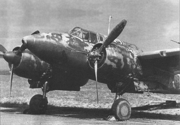 >Ki-45 «Toryu», «Nick» at the Mukden airfield