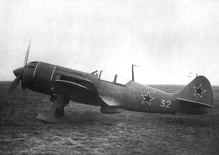 The La-9 at Chkalovskaya airfiel