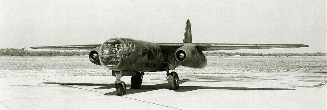 The Ar.234B-2 from a structure 9./KG76, March, 1945