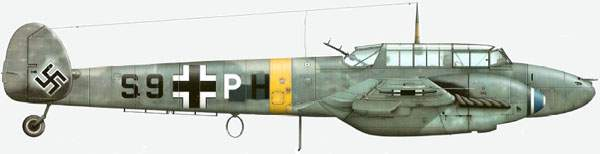 Bf 110Е