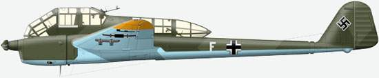 FW189A of one of the reconnaissance units were based in Finland (no precise data), 1942