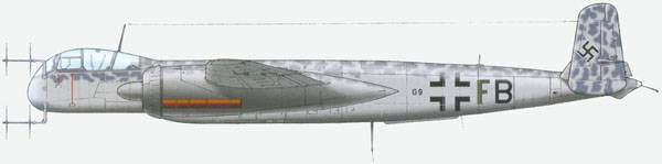 G9+FB was an early He-219A-0 model operated by I/NJG 1 from Venlo in Holland in June 1943.