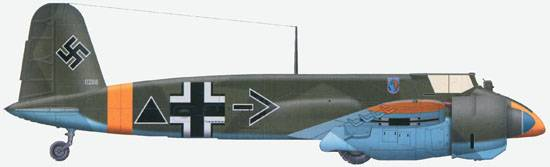 The Hs 129B-2 from Stab/SchG1, Stalingrad, winter 1942-43.