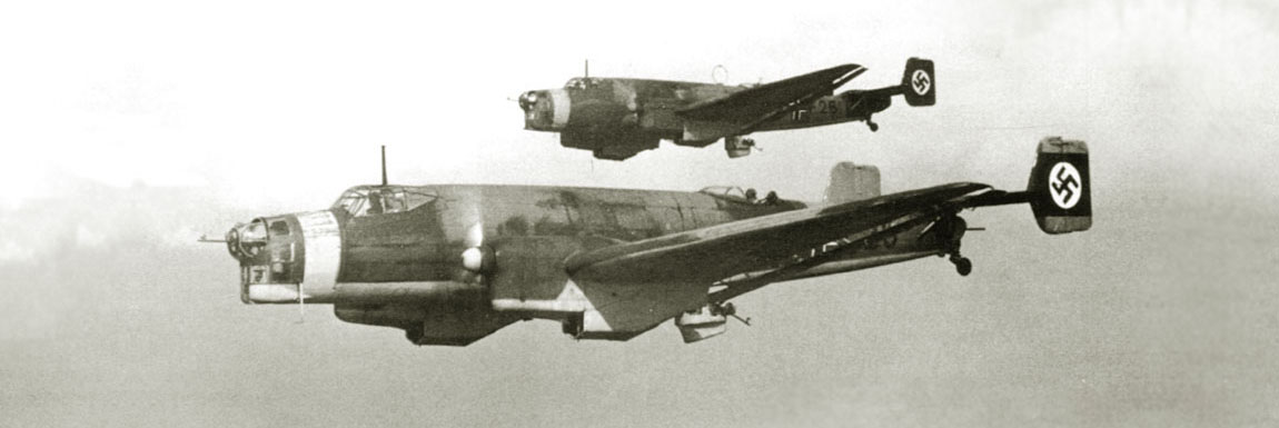 Ju-86 D1 in flight