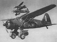 «Лайсендеры» Mk II 225-й эскадрильи, базировавшейся в Одихаме, 1940
