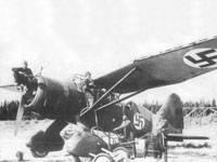 На снимке - заправка LY-125 в июле 1941 года