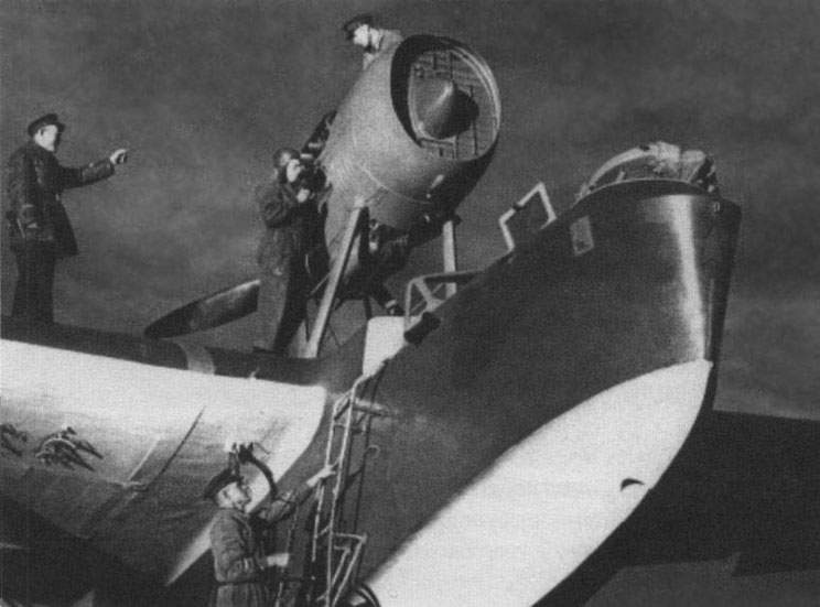 MBR-2 with M-34 engine