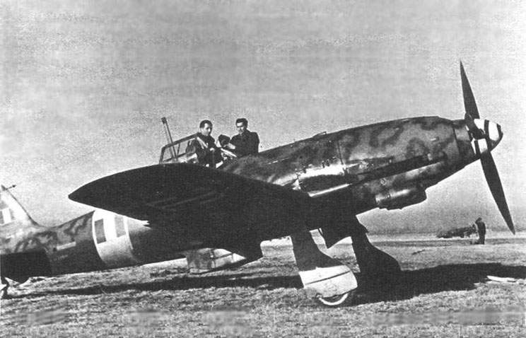 The MC 205V 'Veltro', at spring 1943