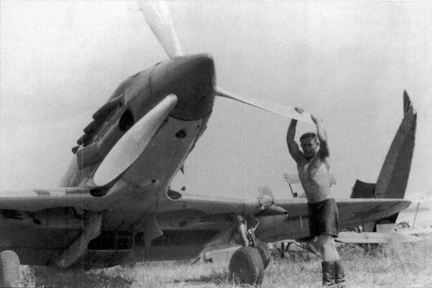 The MiG-3 captured by German troops in the summer of 1941, probably at Minsk