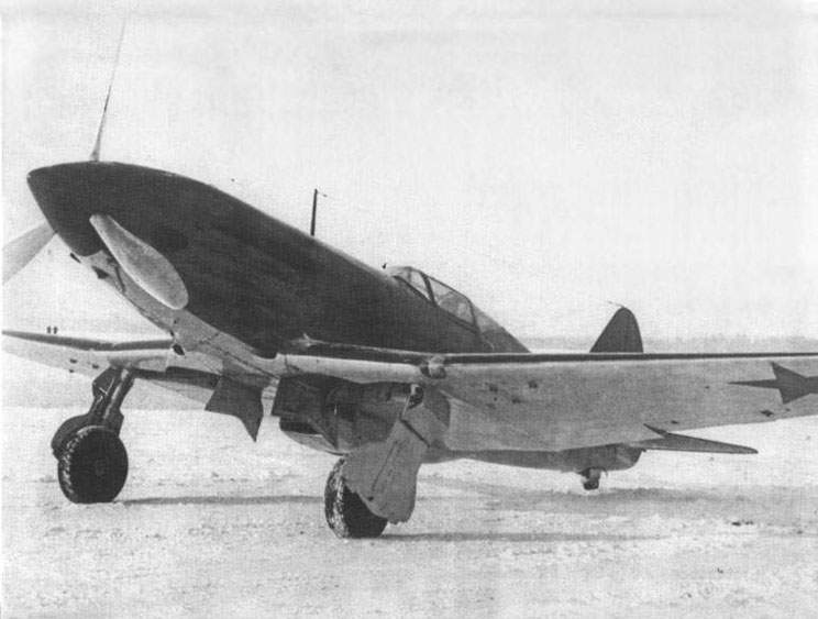 The MiG-3 # 2107 on state tests
