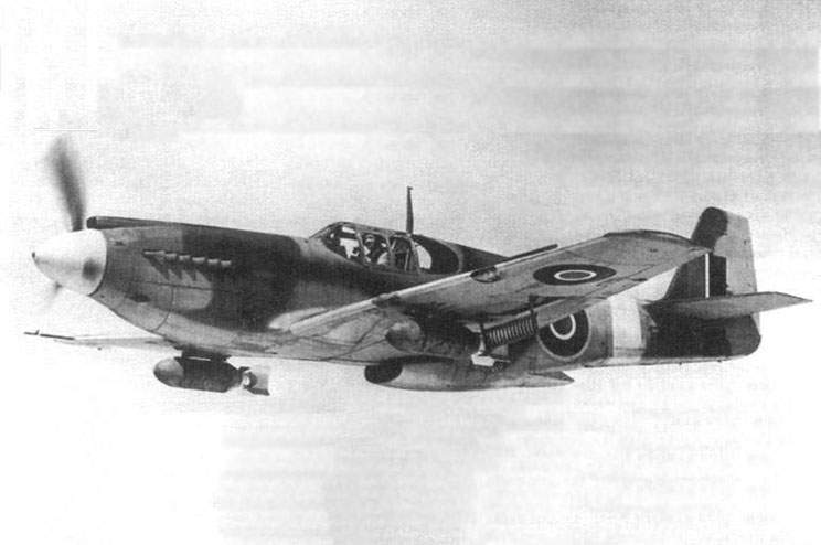 Fighter-bomber A-36 in England