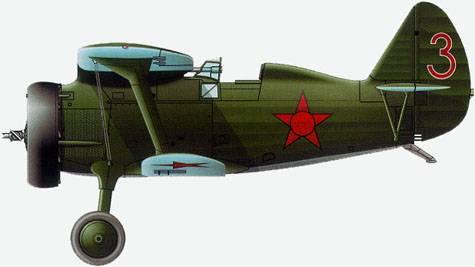 И-15 ВВС РККА, 1936