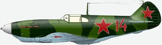 ЛаГГ-3 одного из ИАП, Крым 1942