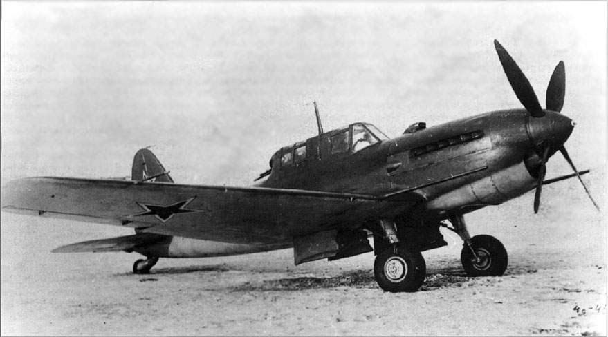 The Su-6 (S2A) powered by water-cooled AM-42